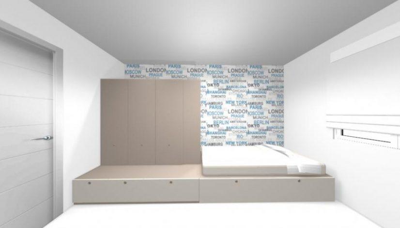 Proyecto de diseñño de interiores de Pepi - Apartamento de Pepi (Málaga) 1