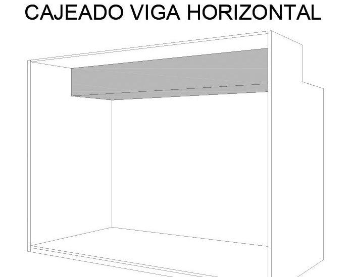 cajeado de un armario modular