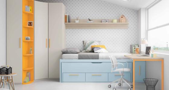 Diseño de dormitorio juvenil con Juana Montes