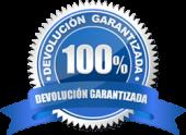 100% Devolución garantizada por Juana Montes. Si no te gusta el servicio, te devolvemos el dinero. Garantizado.