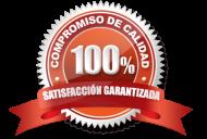 100% satisfacción garantizada. Juana Montes garantiza el servicio