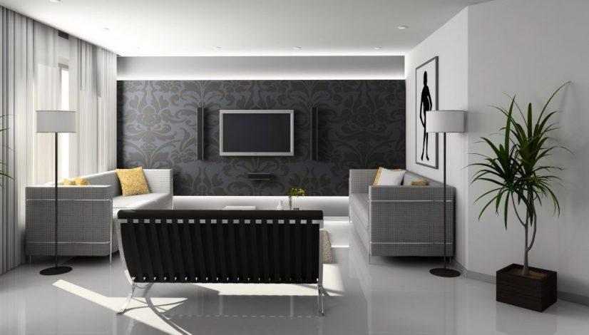 pintar la pared en negro